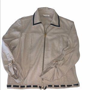 St John linen summer jacket